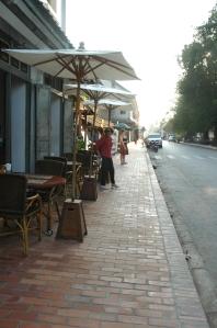 ルアンプラバーンの街並み